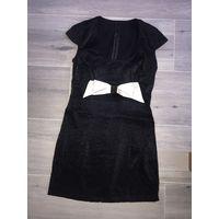 Шикарное нарядное платье с блеском
