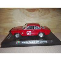 Alfa Romeo Giulia Sprint 1600 GTA .1965. Metro.1/43