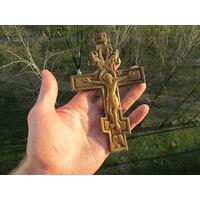 Старинный бронзовый Крест. С 1 рубля!