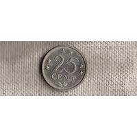 Антильские Нидерланды 25 центов 1983(Ah)