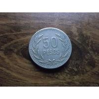 Колумбия 50 pesos 1991