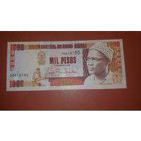 Банкнота 1000 песо Гвинея Бисау  1993