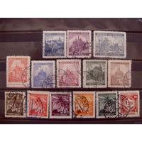 Рейх. Богемия и Моравия 1939/1942 mi. 21, 22, 24, 25, 26, 27, 28, 31, 32, 34 и т.д.