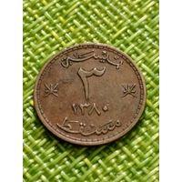 Мускат и Оман 3 байса 1960 г