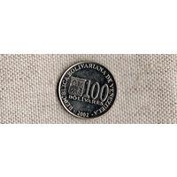 Венесуэла 100 боливаров 2002(Nw)