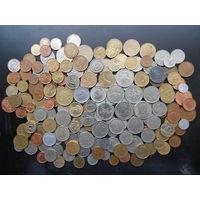 Монеты мира без повторов 184 монет без СССР РФ Украины