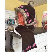 Стильные Шапка - шарф CoolClub