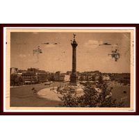 PARIS ~ Площадь Бастилии ~ 1937 год ~