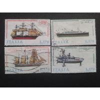 Италия 1977 корабли полная серия