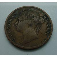 1 цент 1901г. Стрейтс-Сетлментс