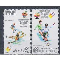 [1336] Джибути 1981.Спорт,футбол.