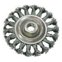 Щетка дисковая проволочная 125 мм PROLINE