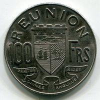 (G3) РЕЮНЬОН - 100 ФРАНКОВ 1964 UNC