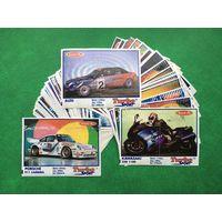 Вкладыши от жвачек коллекция 90-х годов. Turbo Sport. Лот 7