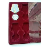 Планшет с прозрачной крышкой  Польша  медали   стандартные