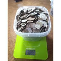 Монеты СССР  5,8 кг.