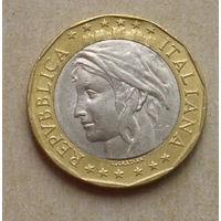 1000 лир 1997 года. Италия.