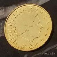 20 евроцентов 2008 Люксембург UNC из ролла