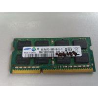Оперативная память для ноутбука SO-DIMM DDR3 4Gb Samsung PC-10600 M471B5273DH0-CH9 (906103)