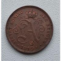 Бельгия 2 сантима, 1919 'DER BELGEN 3-14-46