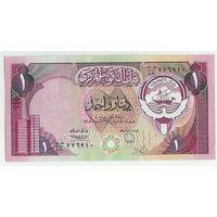 Кувейт, 1 динар 1980-1991 года, aUNC