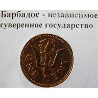 Барбадос 1 цент 1981 год