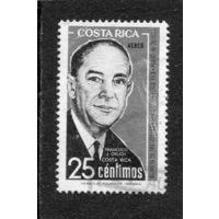 Коста Рика. Франсиско Хосе Орлич Больмарсич, президент