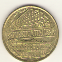 200 лир 1996 г. 100 лет таможенной службе.
