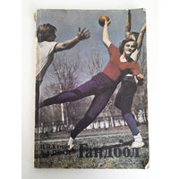 Гандбол. Н.П. Клусов, А.А. Цуркан. 1977 год #0152-4