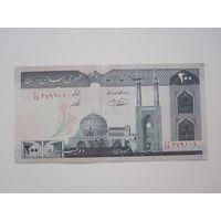 200 Реалов 1982 (Иран) ПРЕСС