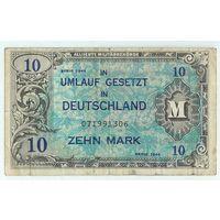 Германия, 10 марок 1944 год.