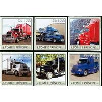 Сан-Томе и Принсипи 2003 Trucks серия 6 марок \4