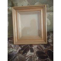 Рамка из дуба со стеклом под икону или фото 185х150
