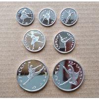 Русский балет. Набор из 7 монет.