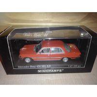 Mercedes Benz 450 SEL 6.9 W116. Minichamps1/43.