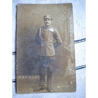 """Старинная фотография 1919 г Польша  ,"""" Улан"""""""