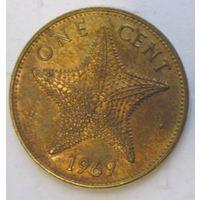 Багамы 1 цент 1969