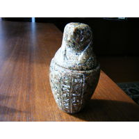 Натуральный камень. Шкатулка из Египта.