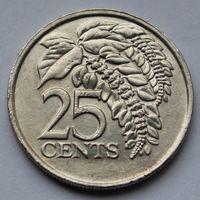 Тринидад и Тобаго, 25 центов 2006 г