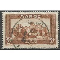 Французское Марокко. Касба Таурирт в Уарзазате. 1933г. Mi#112.