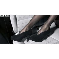 Шикарные замшевые туфли ENZO DI MARTINO 37 ПОЛНОСТЬЮ КОЖА ВКЛЮЧАЯ ПОДОШВУ