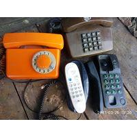 Телефоны стационарные Советские  цена за один