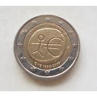 2 евро 2009 Греция 10 лет монетарной политики ЕС