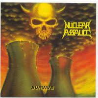 "Nuclear Assault - CD ""Survive""  (заводская реплика)"