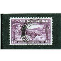 Сьерра-Леоне. Ми-154. Сбор риса. Серия: Изображения короля Георгия VI. 1941.