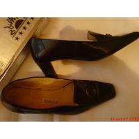 Туфли женские кожа-лак 39-40 р