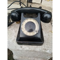 Телефон. Карболит. СССР 1960г.