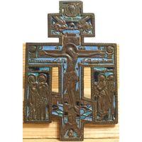 Распятие Христово с предстоящими - Эмали-3 цвета