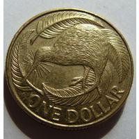Новая Зеландия 1 доллар 2005 г