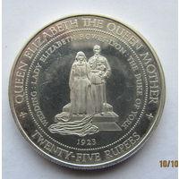 Сейшелы 25 рупи.1994 г.